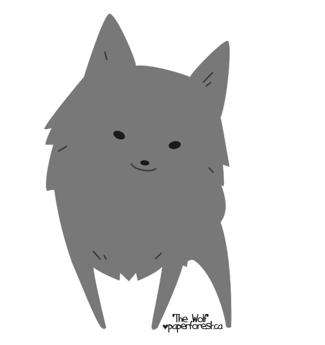 The Wolf Animated By Littlepaperforest On Deviantart