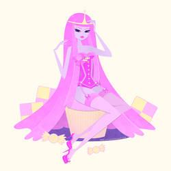 Princess Bubblegum Pin-Up