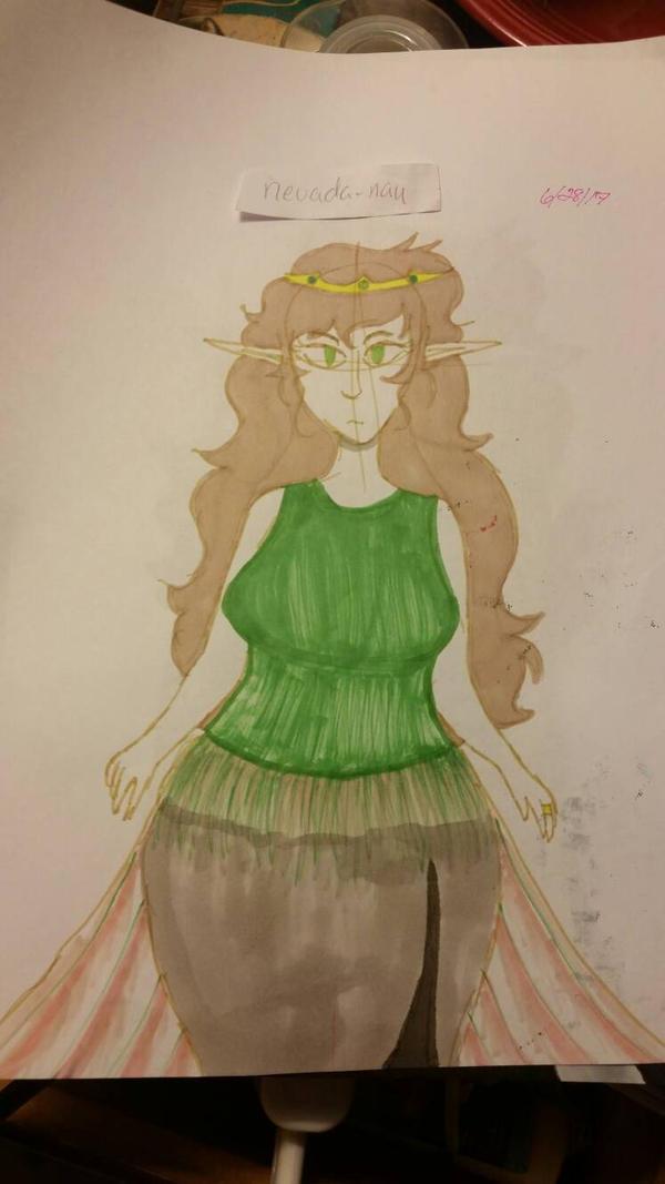 Naugrim - Elven Princess by nevada-nau