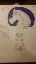 Horsey practice! by nevada-nau