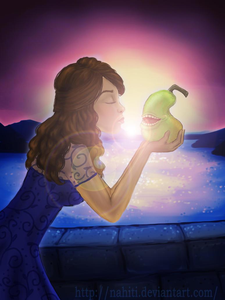 The Princess and the Pear  by nahiti