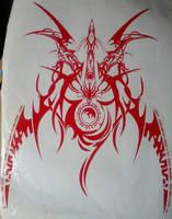 Ragna emblem vinyl by Ohmygahdee