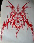 Ragna emblem vinyl