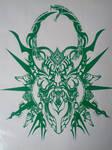 Hazama emblem vinyl