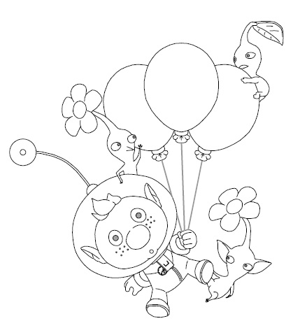 pikmin bulborb coloring pages - photo#40