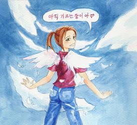 Growing Wings by hbanana7