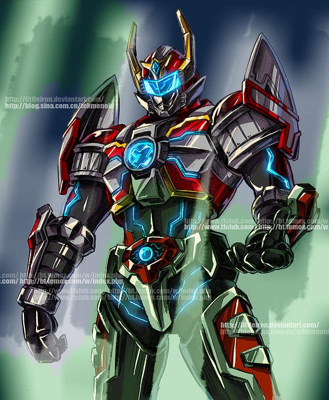 Armor hero xt by littleiron