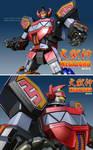 3D Megazord Dai-Zyujin