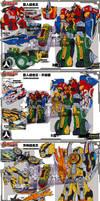Giant Saver Robot designs (2010-10-03 version) by littleiron