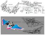 Space Deleter Vehicle Design: Dream Fighter