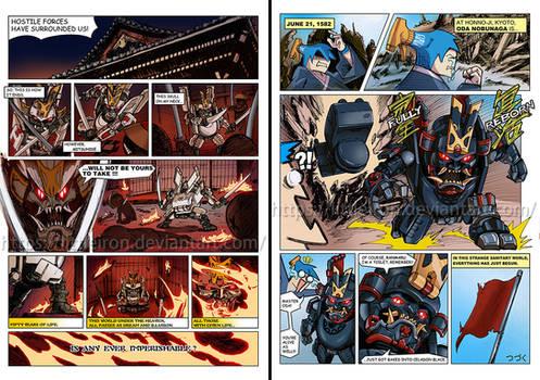 Toywolf W-01 Dirty Man mini-comic