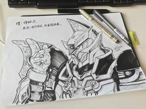 Armor Hero says hi