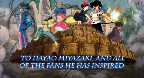 Miyazaki Tribute Collab Photoshop by InfuserGod
