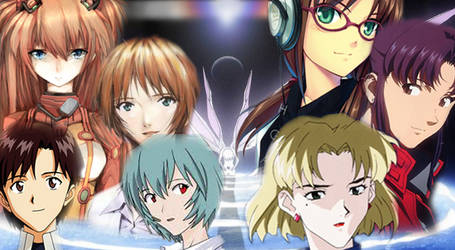 Evangelion Collage by InfuserGod