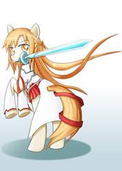 Asuna Sao Pony by roshichen