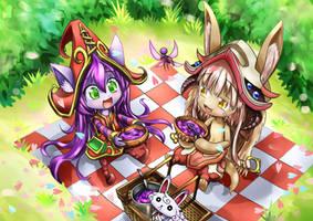 Lulu and Nanachi by roshichen