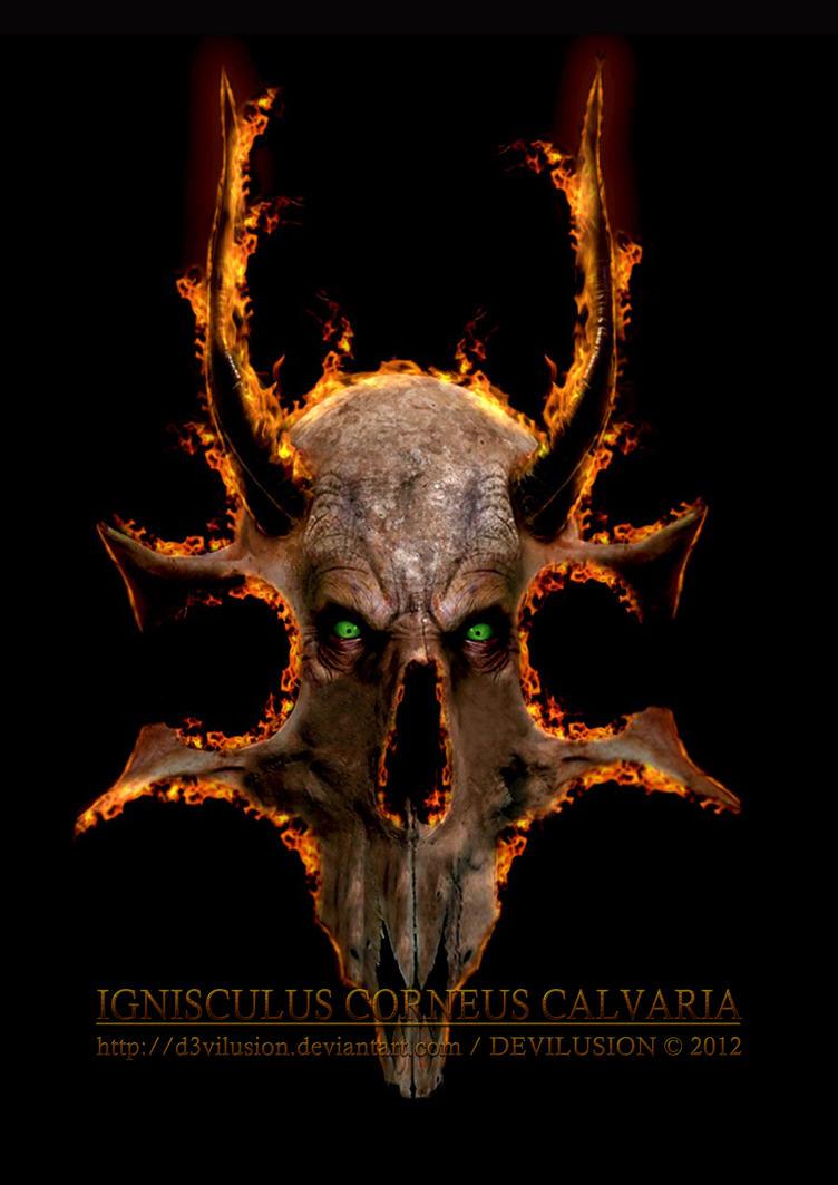 Ignisculus Corneus Calvaria by D3vilusion