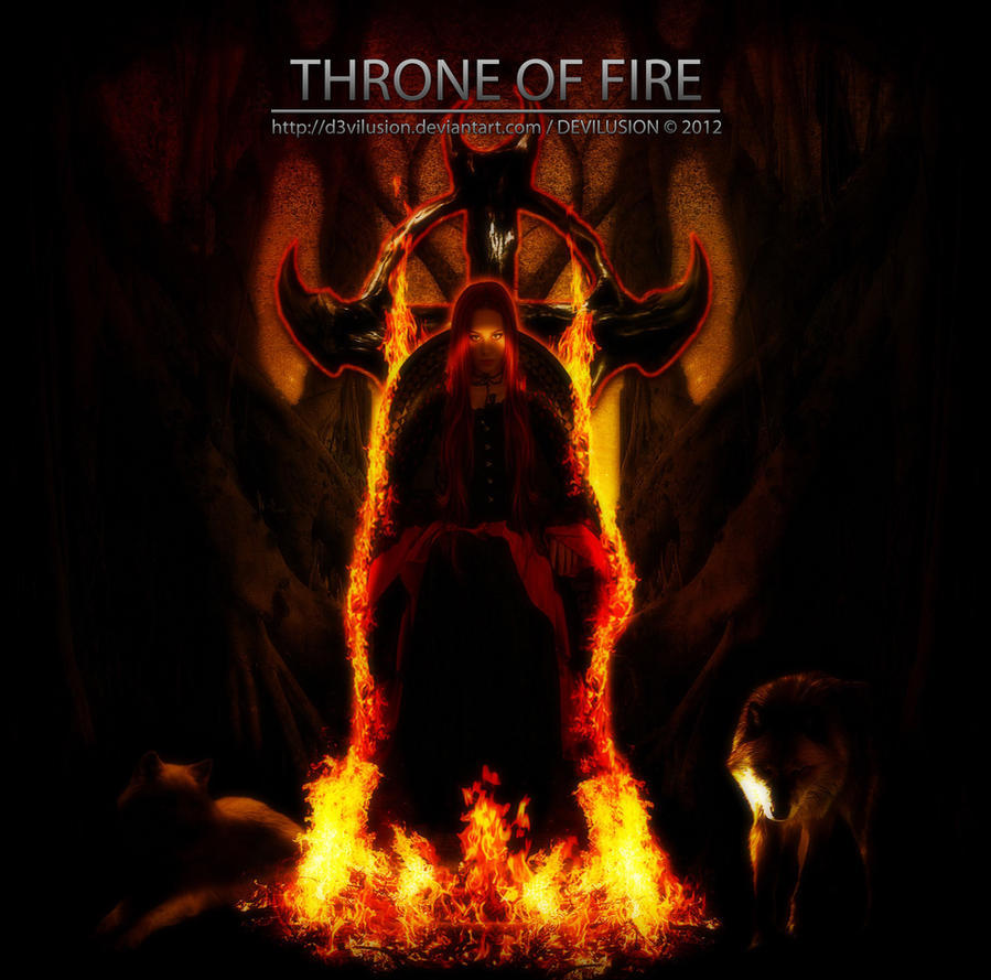 Throne of Fire by D3vilusion on DeviantArt