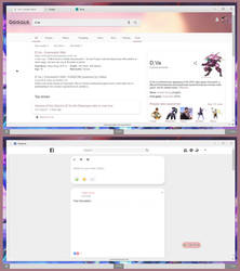 Google and Facebook Themes