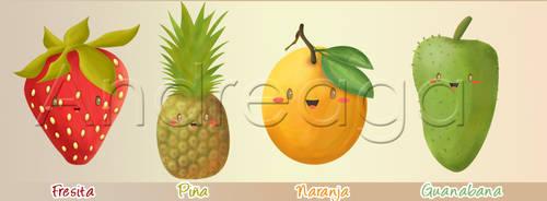 Fruits by andreaga13