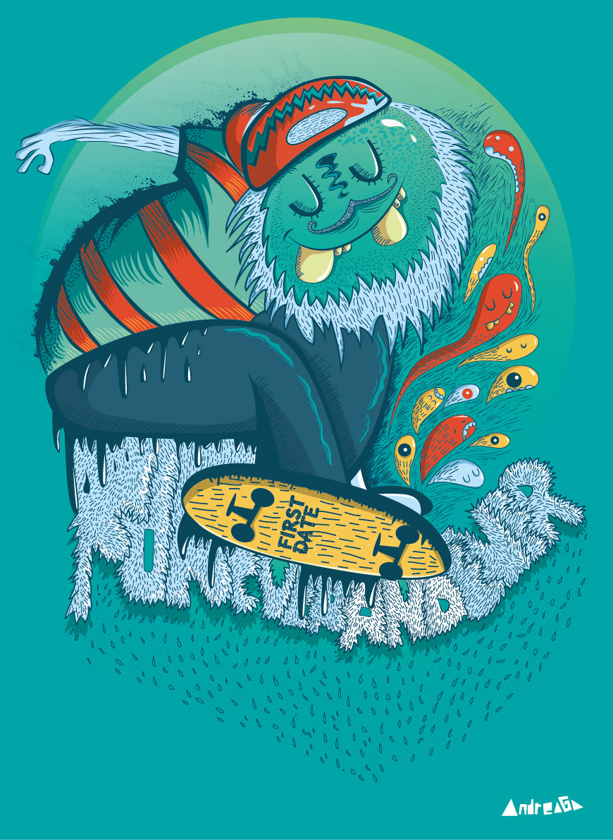 Monster Skate By Andreaga13 On DeviantArt