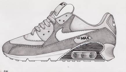 more photos 6df0e 12593 fluffypsyco 5 4 Nike air max 90 in gray by marcepanz