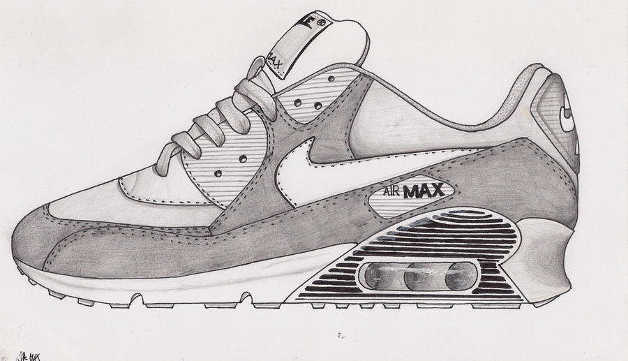 Nike air max 90 in gray by marcepanz ...