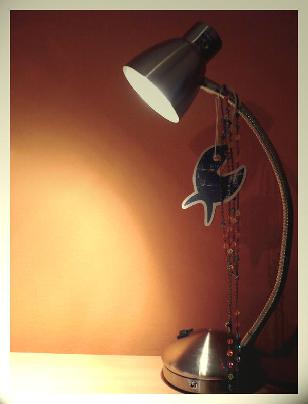 A lamp by subaudition
