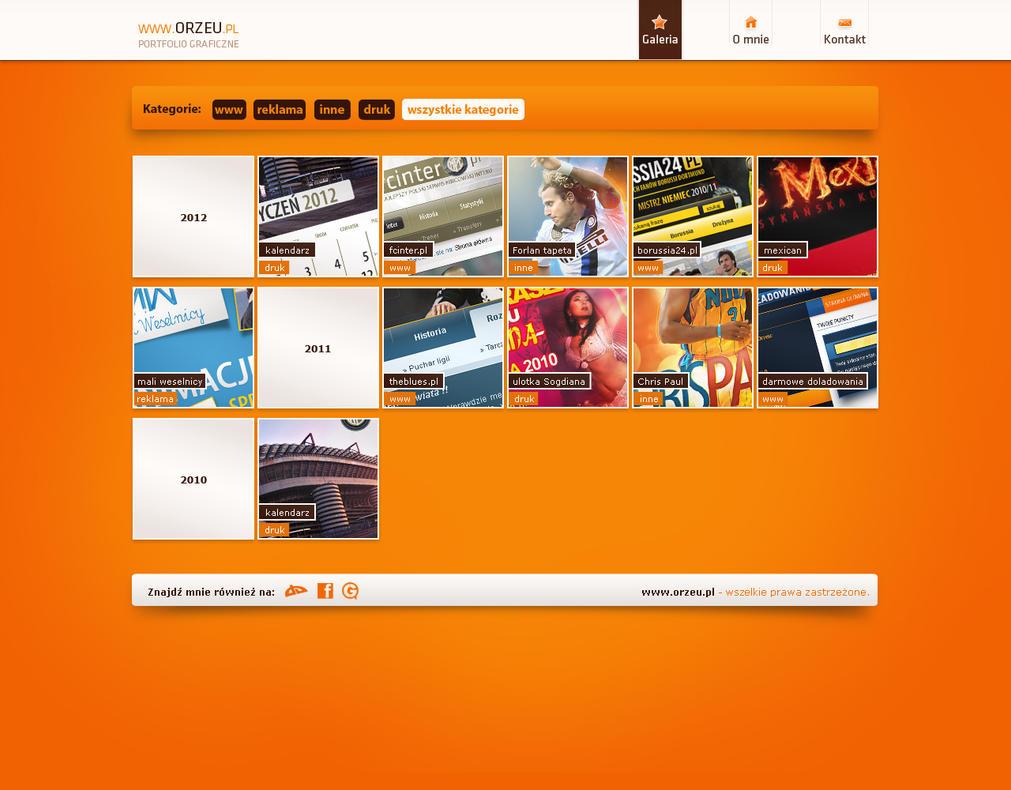 simple portfolio 2012 by Orzeu