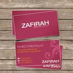 Zafirah business card