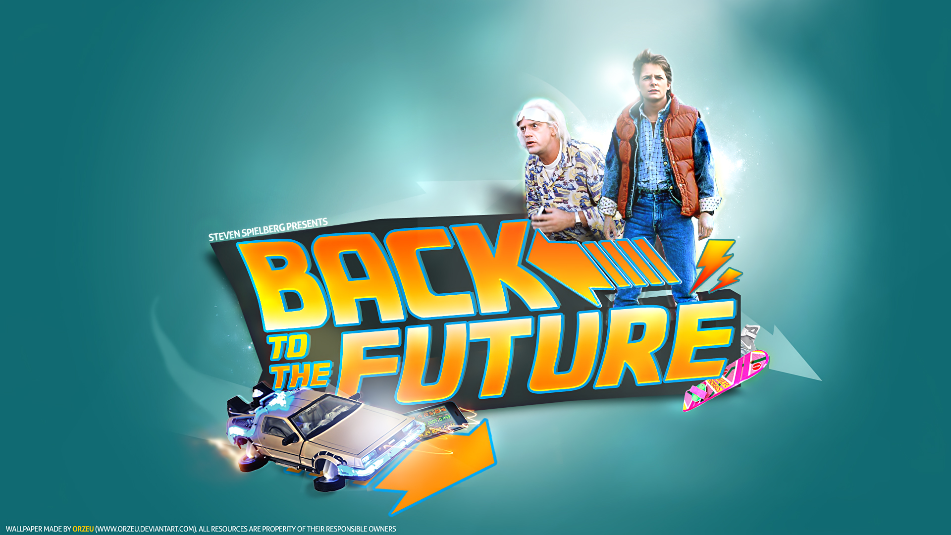 Back To The Future By Orzeu On DeviantArt