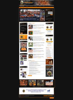Chrobry Glogow website