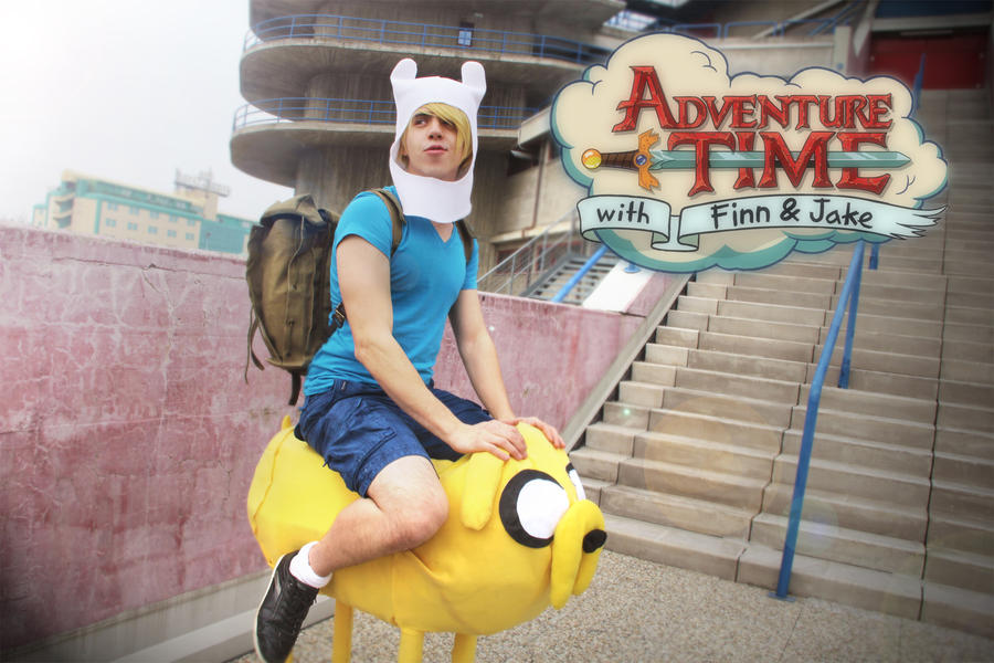 AT: Finn and Jake by kura-and-something