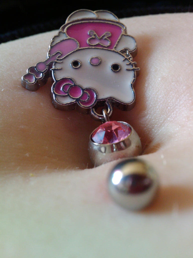 Hello Kitty Belly Bar by PsychopaticCupcake on DeviantArt