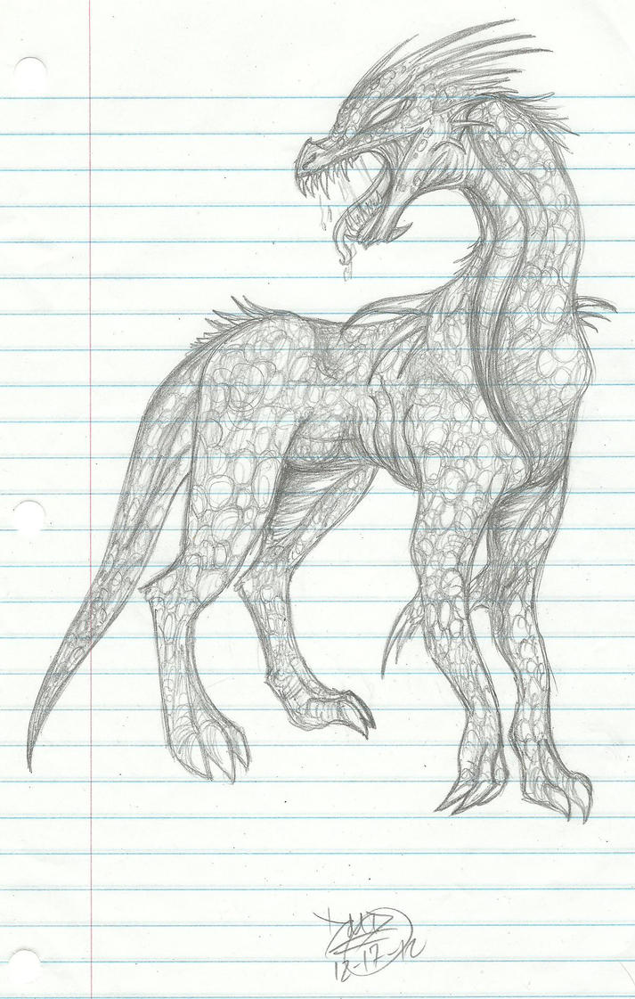Wingless Dra... Pictures Of Fire Dragons