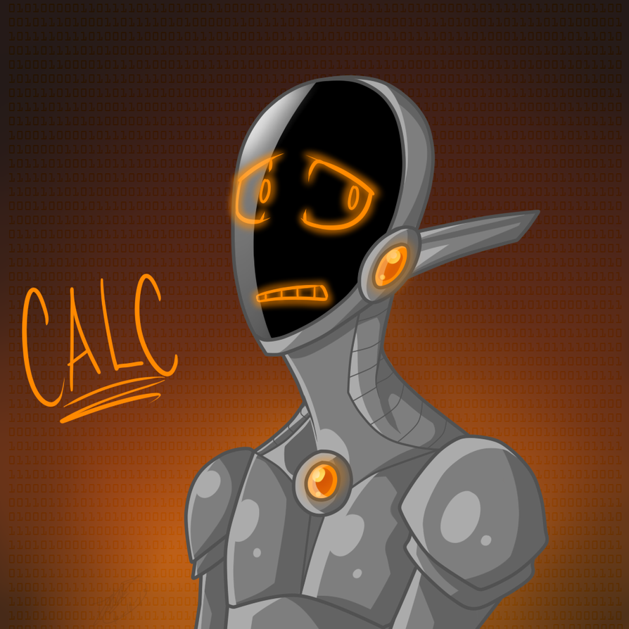 New Droid~ CALC by RoomsInTheWalls