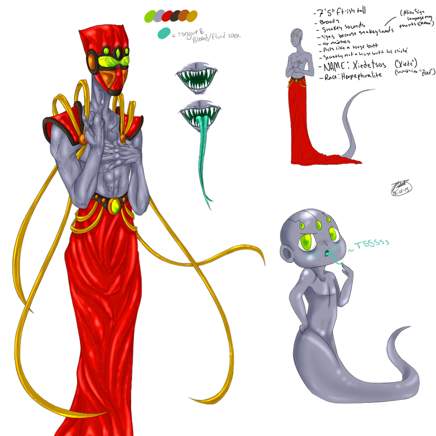 Character Design Quiz : Test character design xiedetsos by roomsinthewalls on