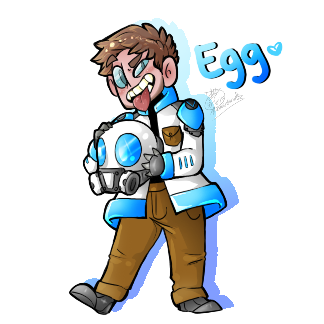 Egg by RoomsInTheWalls