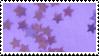 f2u - Purple aesthetic stamp by Pastel--Galaxies