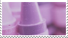 f2u - Purple aesthetic stamp #8 by Pastel--Galaxies