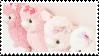 f2u - Pink aesthetic stamp #11 by Pastel--Galaxies