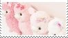 f2u - Pink aesthetic stamp #11 by Pastel--Galaxies