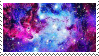 f2u - Galaxy aesthetic stamp #2 by Pastel--Galaxies