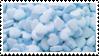 f2u - Blue aesthetic stamp by Pastel--Galaxies
