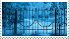 f2u - Blue aesthetic stamp #2