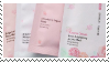 f2u - Pink aesthetic stamp #18 by Pastel--Galaxies