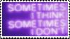f2u - Purple aesthetic stamp #18 by Pastel--Galaxies