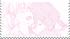 f2u - Pink manga stamp #5 by Pastel--Galaxies