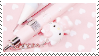 f2u - Pink aesthetic stamp #61 by Pastel--Galaxies