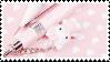 f2u - Pink aesthetic stamp #61 by Pastel--Galaxies
